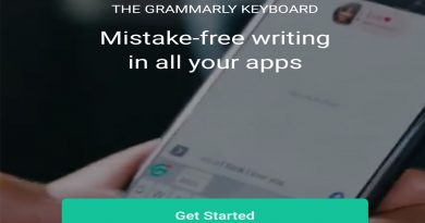 grammarly android keyboard app