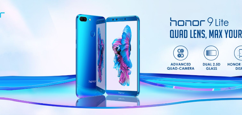 honor 9 lite India