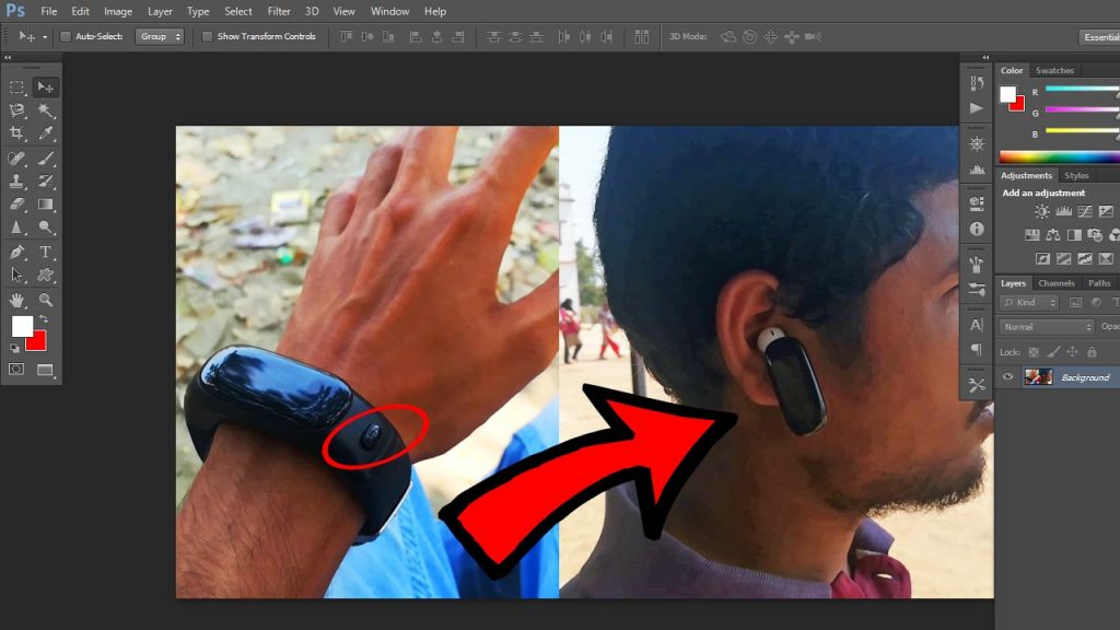 close minimize maximum buttons missing in photoshop