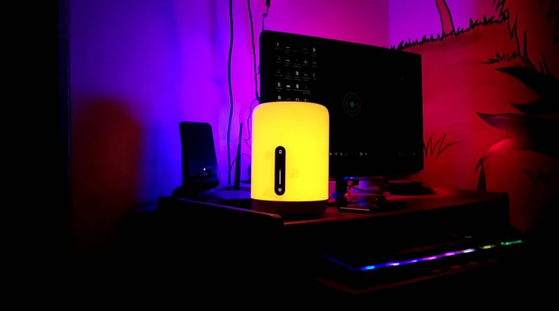 mijia bedside lamp 2 review mi bedside lamp 2 india buy yeelight amazon alexa google assistant