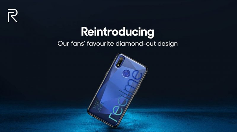 realme 3 price in india camera back diamond cut design launch date