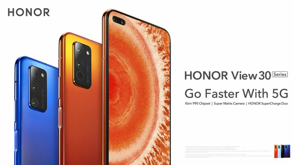 honor view 30 pro and honor view 30 price in india