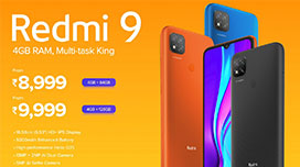 redmi 9 specification price in india